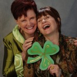 Sue-Meg-Laughing-Shamrock