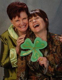 Sue Meg Laughing Shamrock